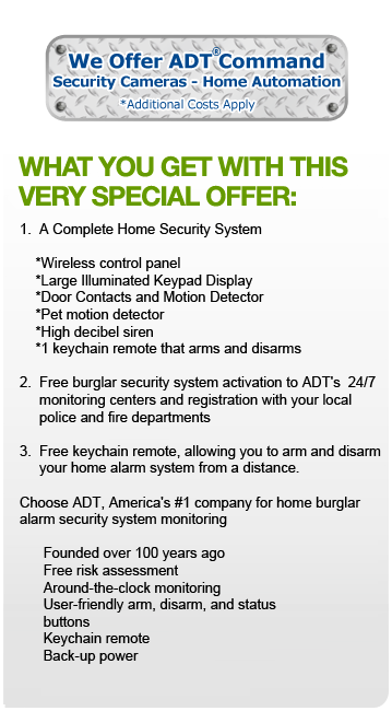 Hartwood, VA ADT Security Offer